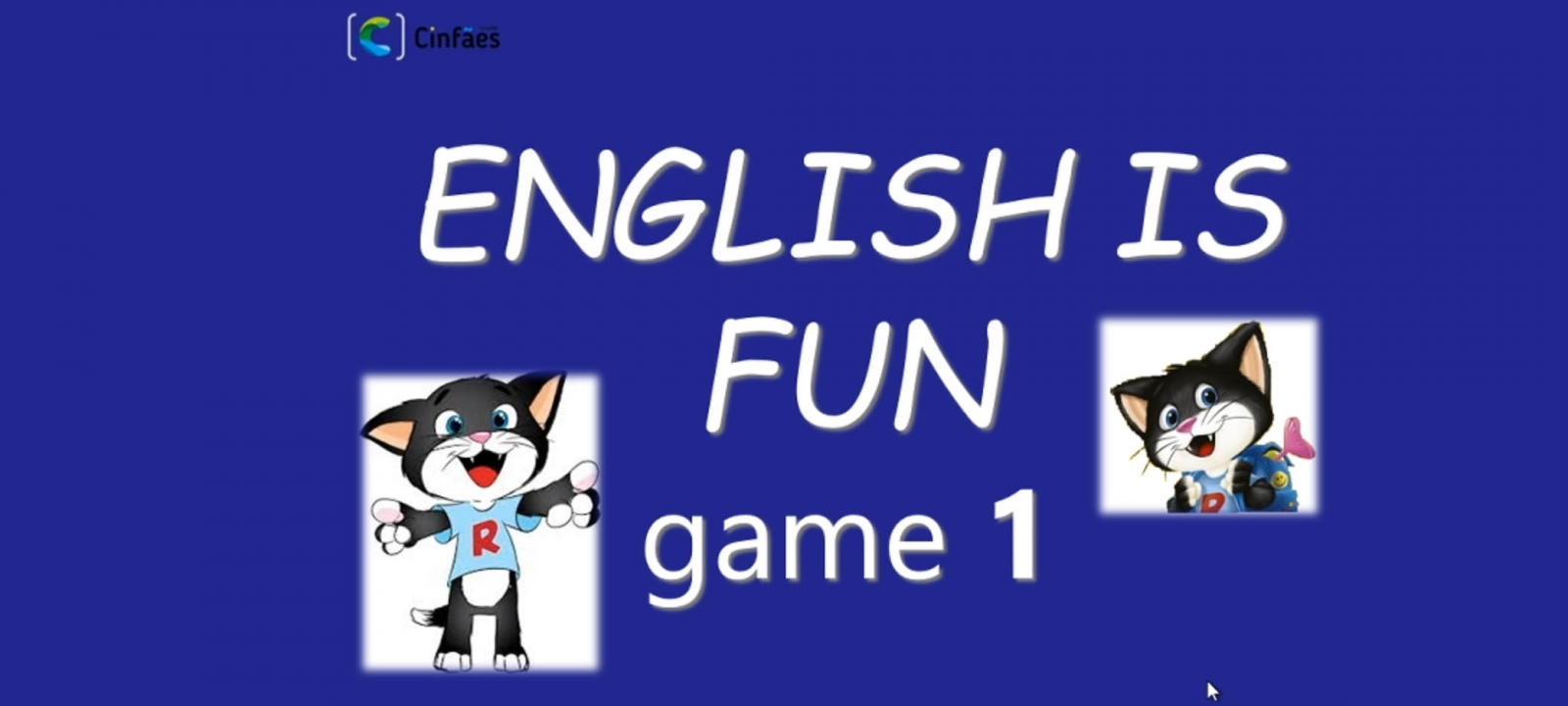 English is fun! - game 1